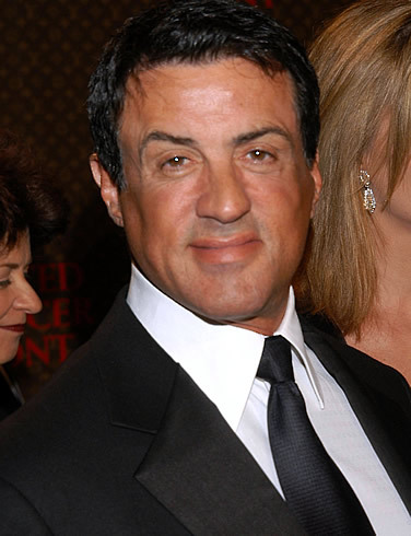 Sylvester Stallone, best known as Rocky Balboa :)