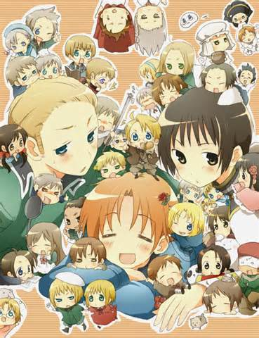 Hetalia Beautiful World really did it for me. I loved it all especially France.