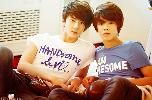 my bias is luhan and sehun (hunhan) hahaha