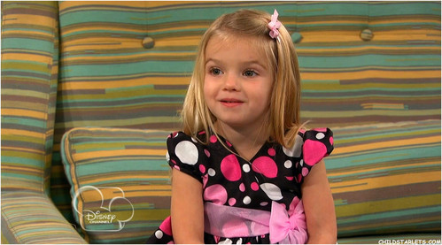 Mia Talerico from good luck Charlie