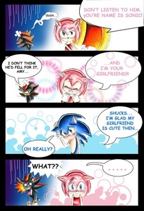 Because of the 25 and 30 năm latter comics no. But since of what's happen in the comic recently, Sally now has NO chance with Sonic so YEAH! SONAMY 4EVER! Not my comic BTW.
