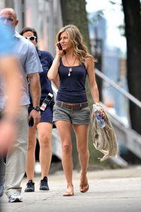 Jennifer in shorts :)