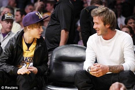Biebs and Beckham<3