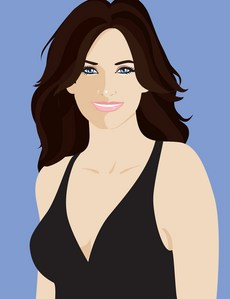 Courteney Cox fan art :)