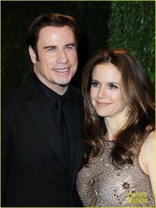 John and wife, Kelly Preston <333333