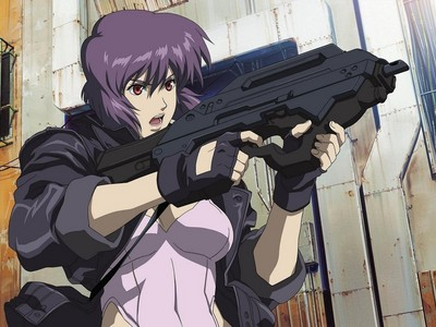 Major Mokoto from Ghost in the Shell
