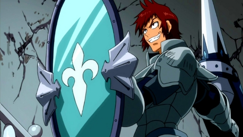 Dan from Fairy Tail.
