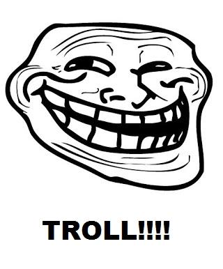 A troll XD