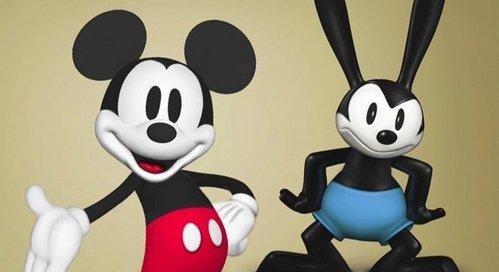 Mickey & Oswald