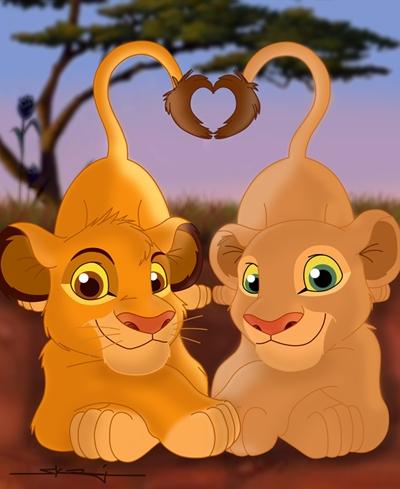 Simba and Nala:)
