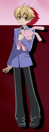 Mitsukuni Haninozuka-senpai! He usually looks shorter than this.
