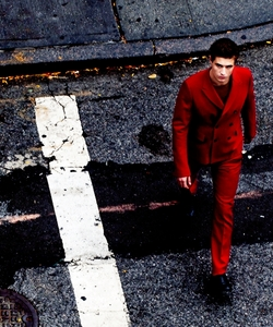 Max in a red suit<3