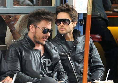 Jared and Shannon Leto<3