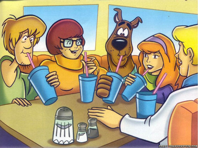 I like the ghosts in this cartoon and the pranks of the 5 friends. This is my fav. cartoon.