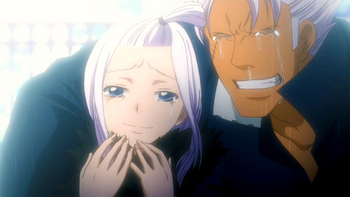 Elfman & Mirajane (Fairy Tail)...sry it had to be with a female also