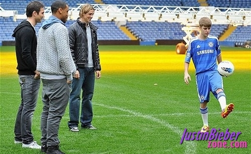 Jb at Stamford bridge :)