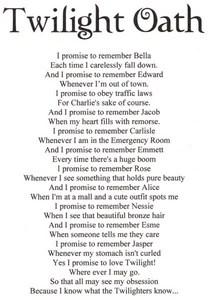 an oath I live by<3