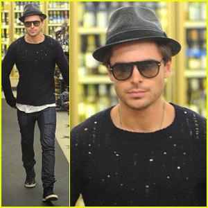 Zac wearing a hat<3