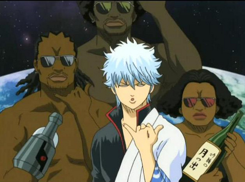 Gintama! Funniest Anime I've ever seen and I have watched a lot of comedy Anime XD ....Also Daily lives of highschool boys X3