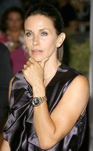 Courteney Cox with a watch :)