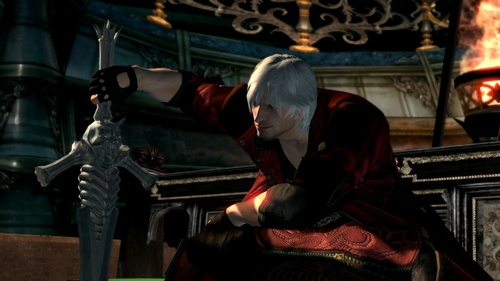 Dante from the Devil mat cry series.... One of the most badass characters I've played XD Also has an anime adaption