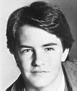 Matthew Perry as a senior in High School :)