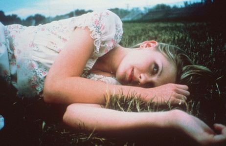 A young Kirsten Dunst in The Virgin Suicides