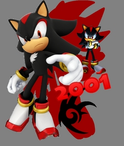 Is about Shadow the Hedgehog...Who else?