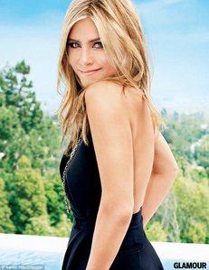 Jennifer looking over her shoulder :)