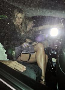 Jen crossing her legs :)