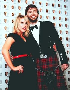 David Tennant in a kilt:)