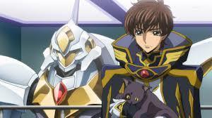 Suzaku kurugi as knight of zero code geass