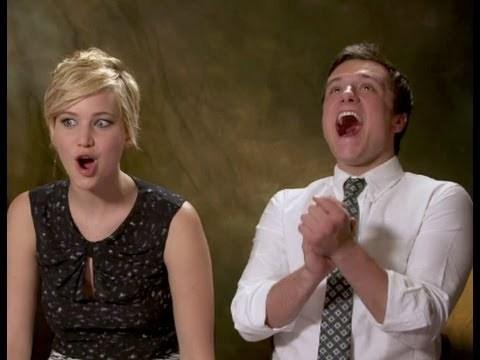 Josh Hutcherson laughing<3