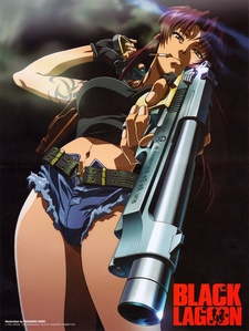 Revy from black lagoon is so badass in my book!