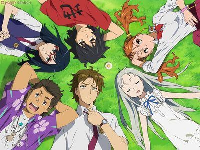 I finished Anohana in a few hours, pretty much from when I had makan malam, majlis makan malam until when I went to sleep. Granted it's only 11 episodes, but still! I normally take a whole hari to watch a short anime.