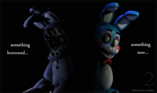 I like the old look of animatronics better. BUT. If there will be both new and old, it would be great. I mean, those two Foxys running down the hallways on two sides 또는 old Bonnie without upper muzzle :O We know almost nothing about the game so far, but I'm sure Scott will do his best to make us shit our pants :D
