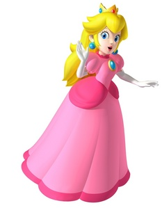pêche, peach hands down she is that girl I pretty much main her in every mario game where she is playable :)