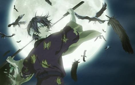 Shinsuke Takasugi (Gintama)  there r serveral versions of Shinsuke.........he he he