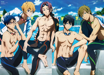 I watched each series of Hetalia in a day, but for a full series, then it would have to be when I watched Free! Iwatobi Swim Club (before the saat season came out) in two days