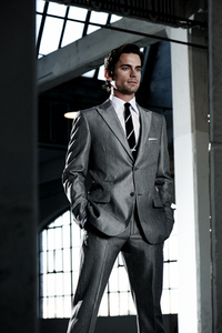Matt Bomer in a suit<3