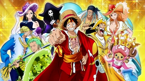 out of all the Anime I've watched it's still...One Piece
