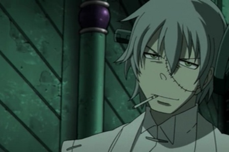 Goodness... Was I the only one thinking Stein from Soul Eater?! ;-)