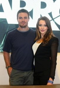 Stephen Amell and Katie Cassidy!<3