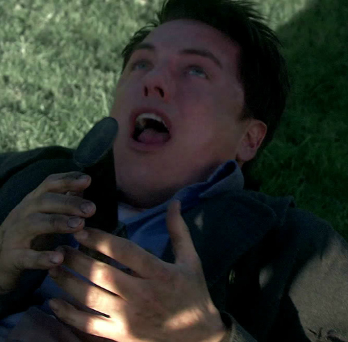 After his brother stabbed him on Torchwood.