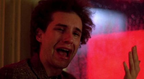 Barry Miller in tears from the movie Fame