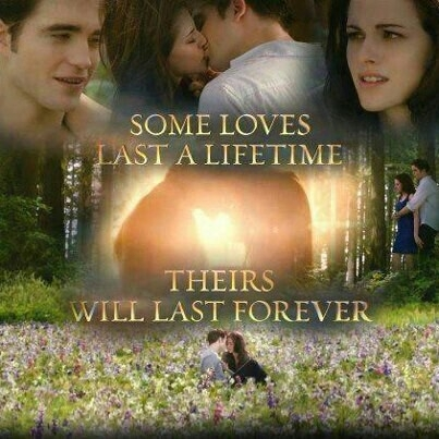 the epic cinta story of Edward and Bella,a cinta that will last FOREVER<3