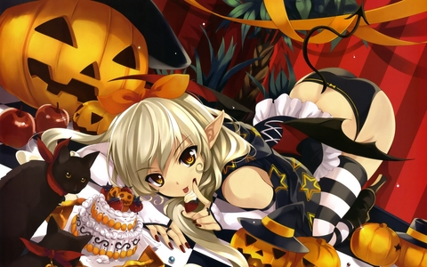 Anime pic, Happy Halloween Guys!