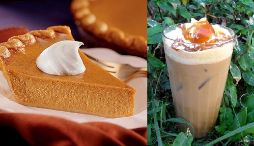 Eat some abóbora pie and drink abóbora spice iced coffee! Yum!! <3