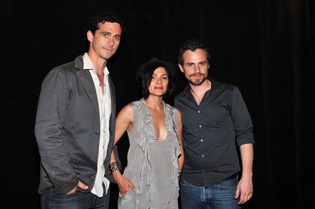 Rider Strong with his wife, Alexandra Barreto and his brother, Shiloh Strong :)