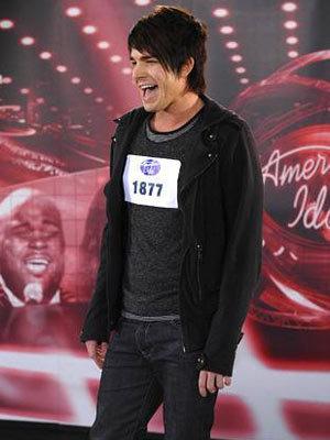 Adam Lambert on American Idol:)